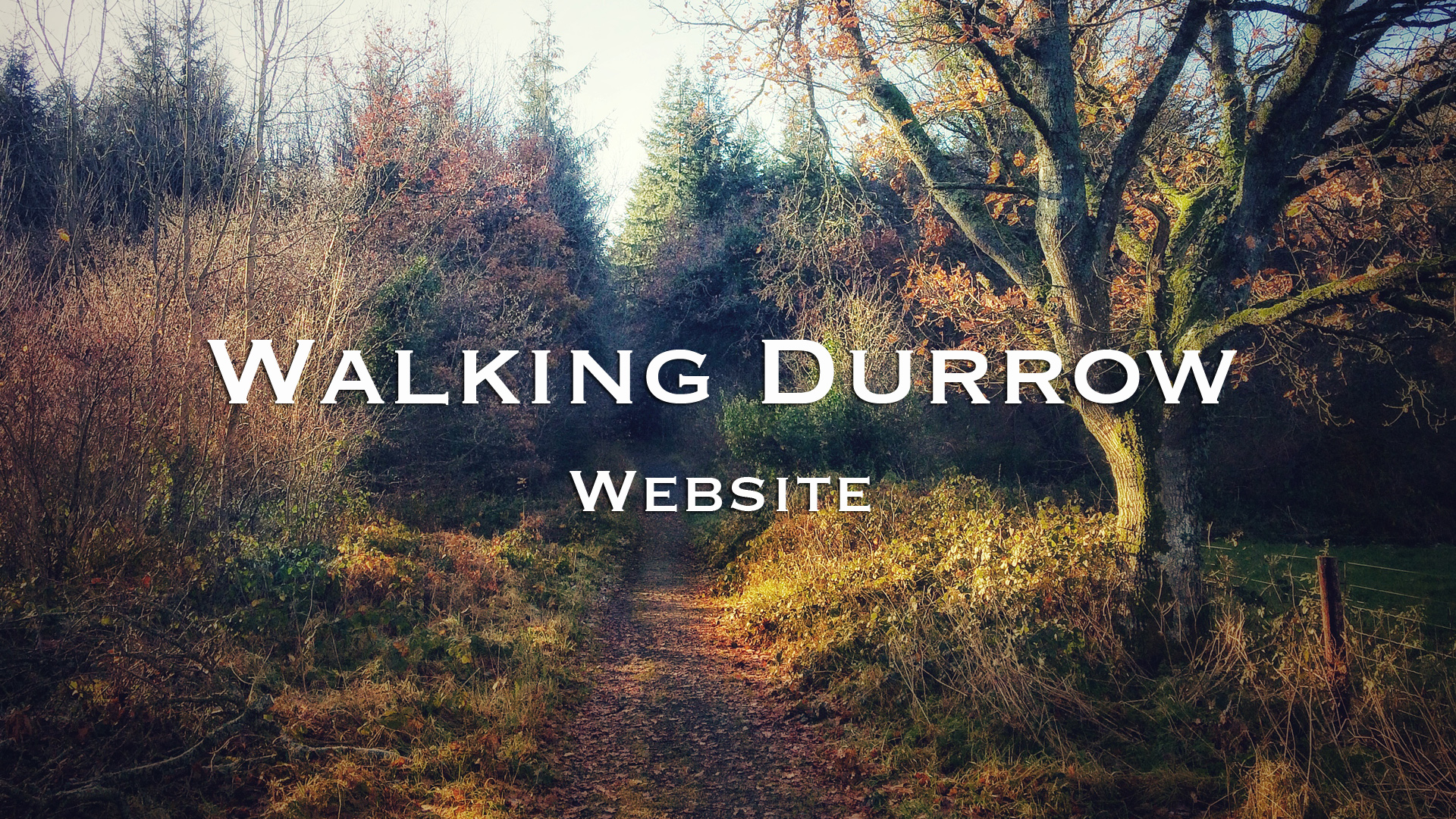 Walking Durrow Website