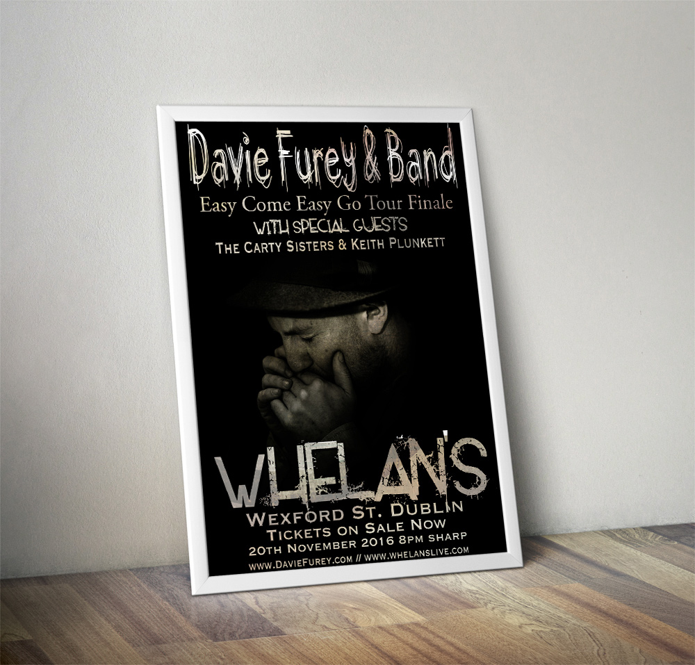 Davie Furey - Tour Finale Poster Design