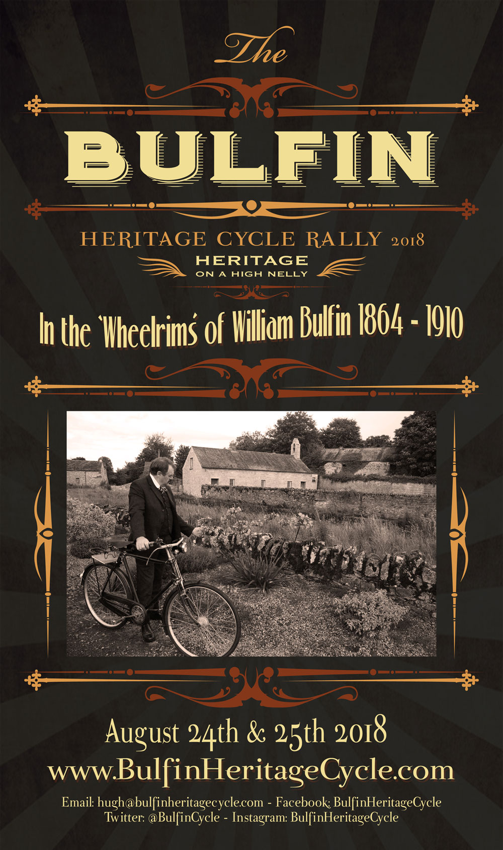 Poster Design for Bulfin Heritage Cycle