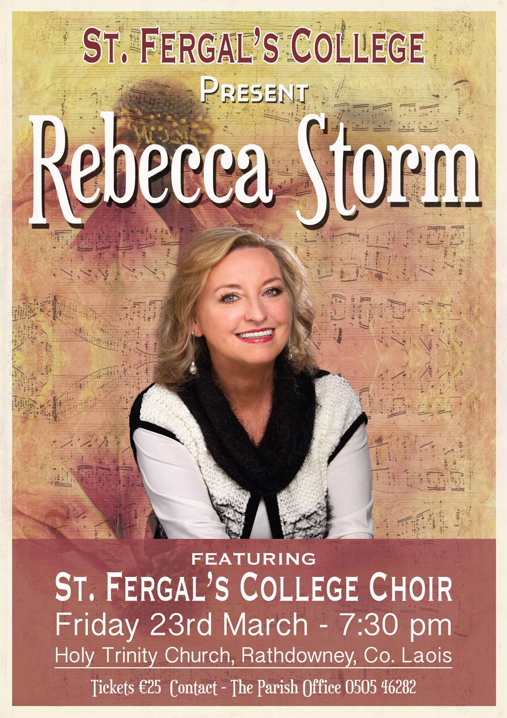 Rebecca Storm Poster Design